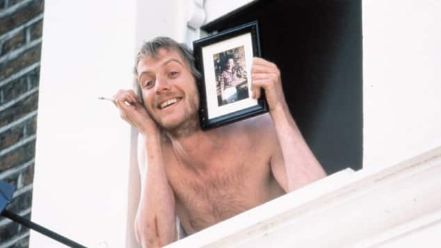 """Rhys Ifans as """"Spike"""" in """"Notting Hill"""""""