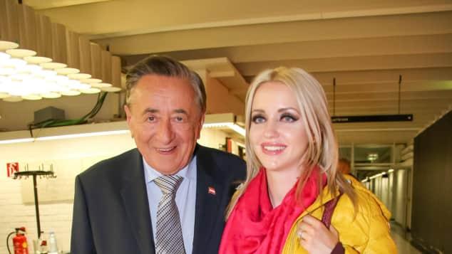 Richard Lugner und Cathy Lugner stecken in einer Ehekrise