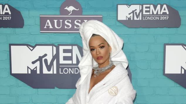 Rita Ora war der Host der MTV Europe Music Awards