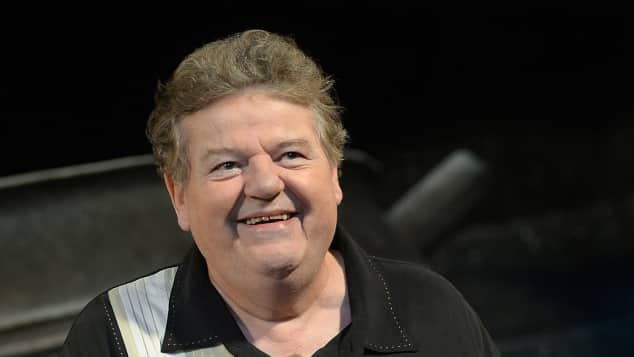 Robbie Coltrane now