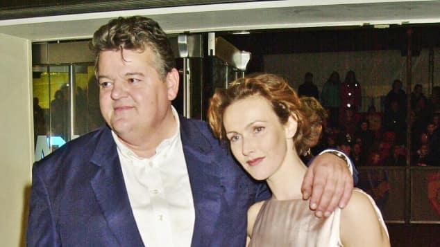 Robbie Coltrane und seine Ex-Frau Rhona Gemmell