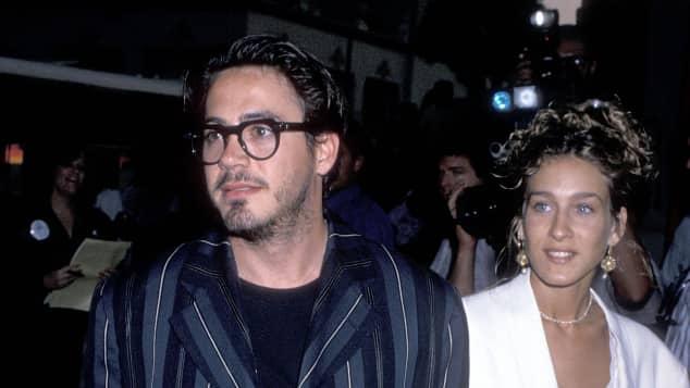 Robert Downey Jr. und Sarah Jessica Parker waren in der achtziger Jahren ein Paar