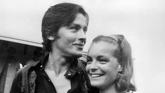 Alain Delon und Romy Schneider waren verlobt, heirateten jedoch nie