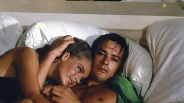 """Romy Schneider und Alain Delon drehten zusammen den """"Swimmingpool"""""""