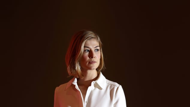 "Rosamund Pike in ""Gone Girl"""