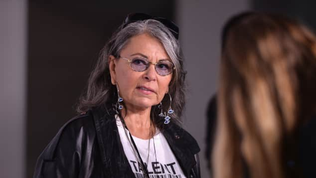Roseanne Barr at the 2014 Paley Fest Roseanne Sitcom