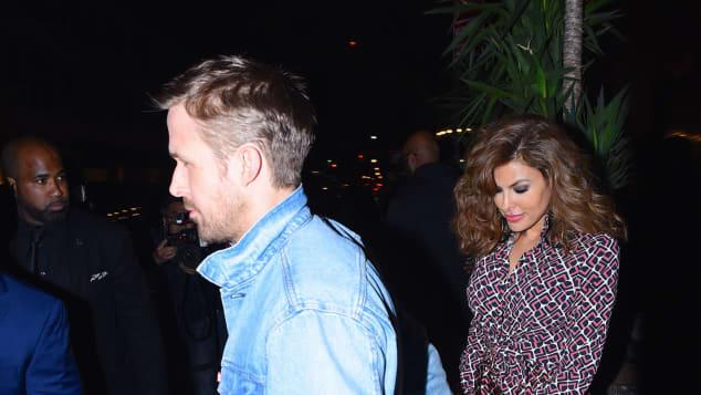 Ryan Gosling Eva Mendes Date New York Schauspieler
