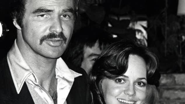 Sally Field and Burt Reynolds in 1978