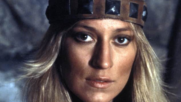 """Sandahl Bergman in der Rolle der Valeria in """"Conan, der Barbar"""""""
