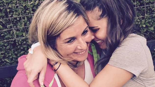 Sarah Lombardi und ihre Mutter am Muttertag