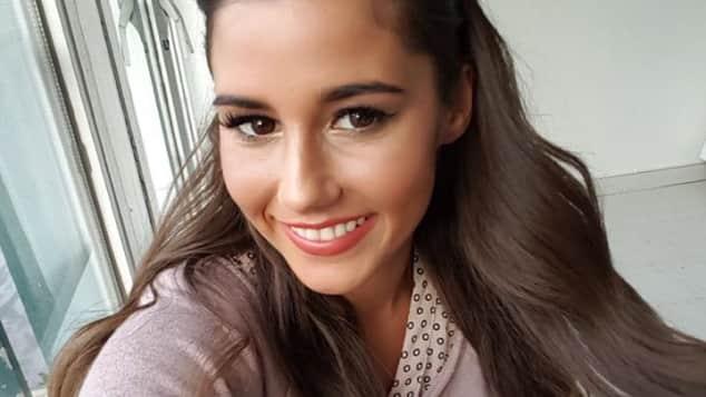 Sarah Lombardi DSDS Selfie