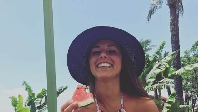 Sarah Lombardi Facebook Bikini