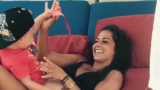 Sarah Lombardi kuschelt mit Alessio im Urlaub