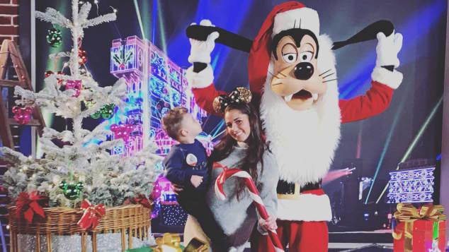 Sarah Lombardi Alessio Disneyland