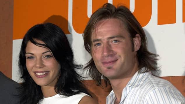 Sasha mit Jessica Schwarz vor 16 Jahren