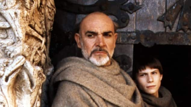 "Sean Connery und Christian Slater in ""Der Name der Rose"""