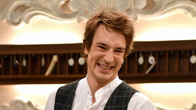 """Sebastian Fischer als """"Viktor Saalfeld"""" bei """"Sturm der Liebe"""""""