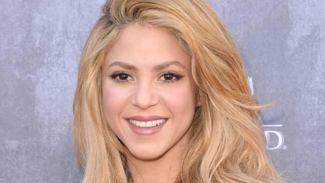 Die kolumbianische Pop-Rock-Sängerin Shakira