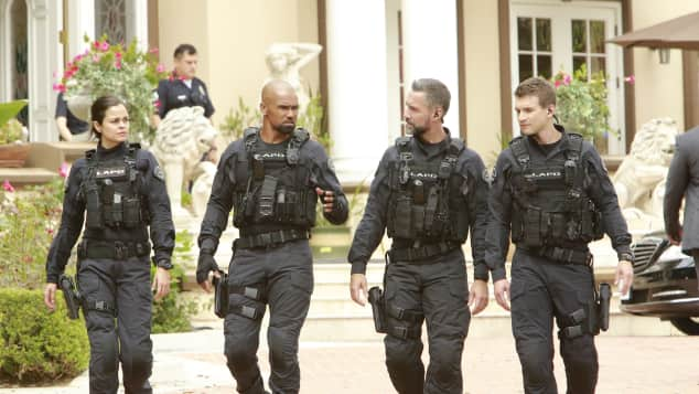"Shemar Moore in ""S.W.A.T."""