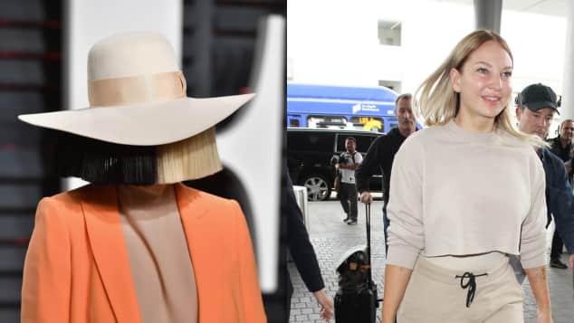 Sia ohne Perücke