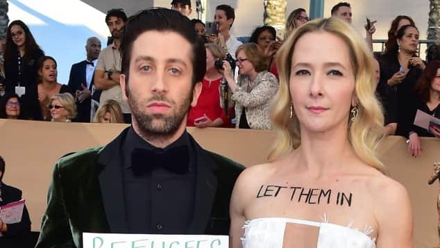 Simon Helberg Jocelyn Towne Screen Actors Guilt Awards