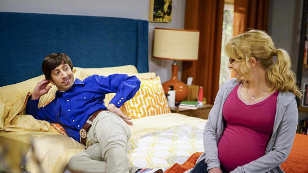 "Simon Helberg und Melissa Rauch in ""The Big Bang Theory"""