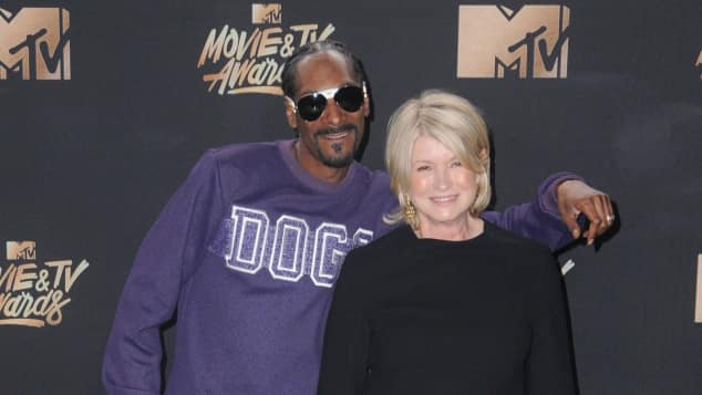 Snoop Dogg und Martha Stewart bei den MTV Movie Awards 2017