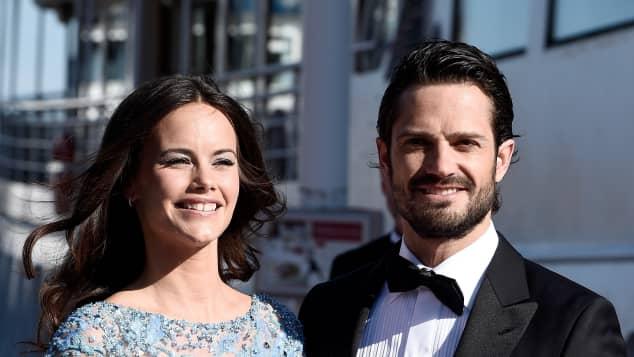 Sofia Hellqvist und Prinz Carl Philip kurz vor der Hochzeit