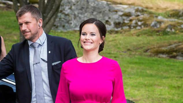 Sofia von Schweden schwanger Schwangerschaft Baby-Glow glücklich
