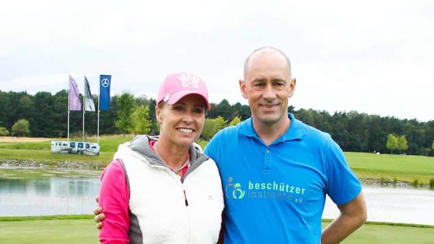 RTL-Moderatorin Sonja Zietlow mit ihrem Ehemann Jens Oliver Haas