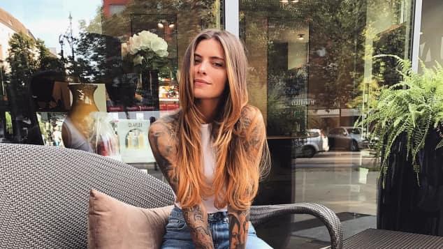 Sophia Thomalla neue Haarfarbe