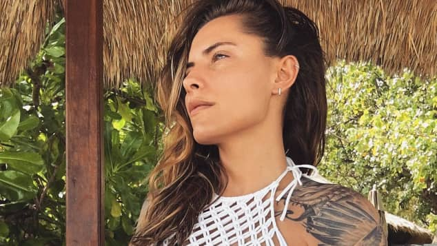 Moderatorin Sophia Thomalla zeigt sich super sexy im Bikini