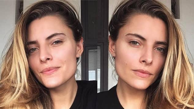 Moderatorin Sophia Thomalla zeigt sich komplett ungeschminkt