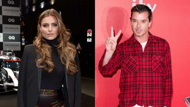 Rockstar Gavin Rossdale The Voice Juror Bash Band Sophia Thomalla küsst wieder London neuer Mann Freund zusammen ein Paar