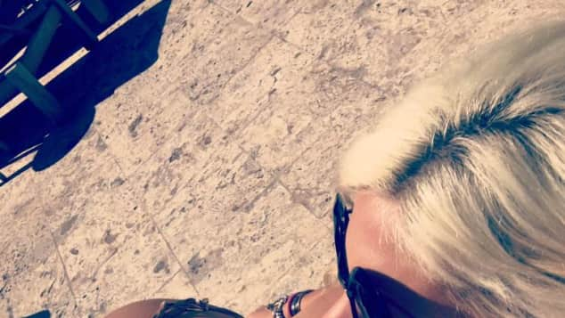Sophia Wollersheim sexy Bikini Miami Strand