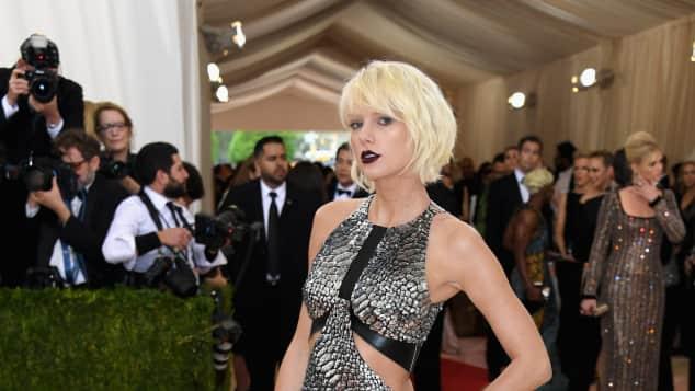 Taylor Swift auf der MET Gala