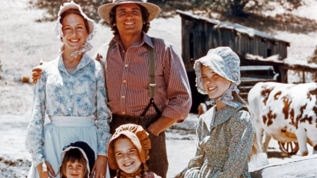 "The ""Little House on the Prairie"" cast"