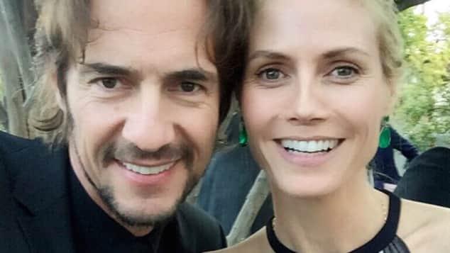 Thomas Hayo und Heidi Klum besuchen zusammen die Hochzeit eines befreundeten Paares