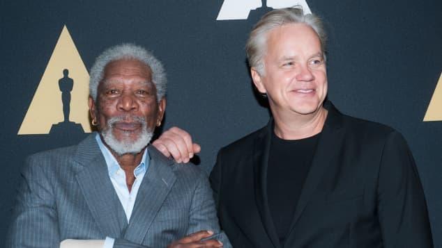 Tim Robbins and Morgan Freeman starred in Shawshank Redemption