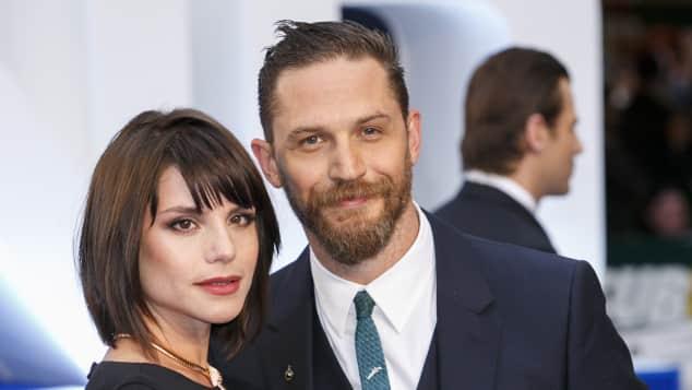 Tom Hardy und Charlotte Riley werden Eltern