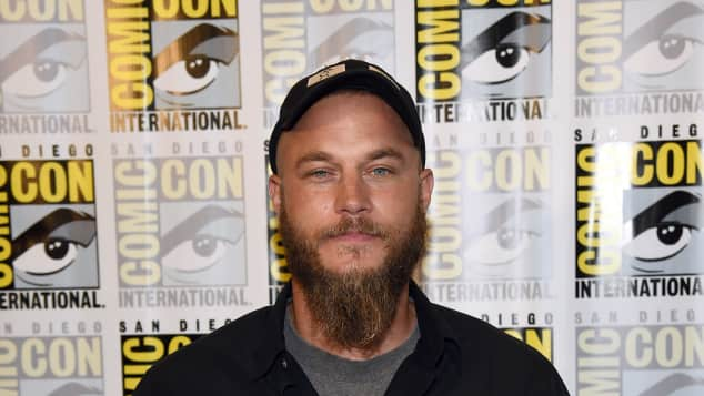 """Vikings"": Travis Fimmel alias ""Ragnar"""