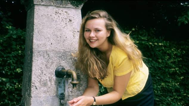 Veronica Ferres mit 24 Jahren