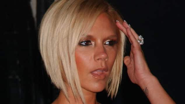Victoria Beckham Spice Girls David Beckham Busen OP