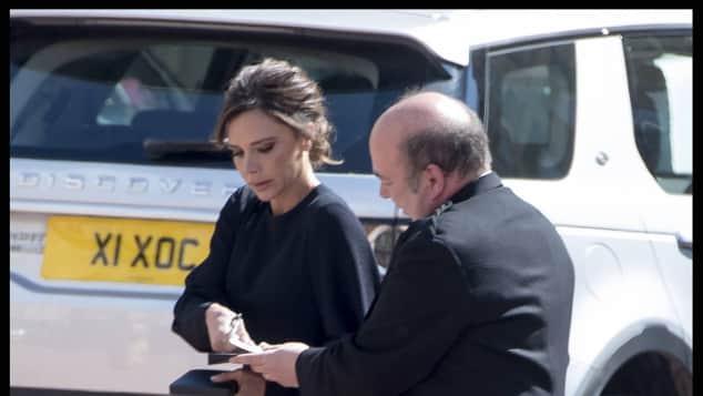 """Victoria Beckham erhielt den """"OBE"""""""