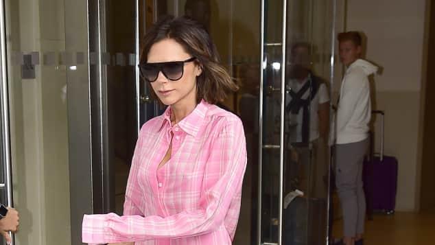 Victoria Beckham: Im Pyjama unterwegs?