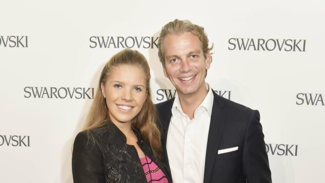 Victoria Swarovski und ihr Verlobter Werner Mürz