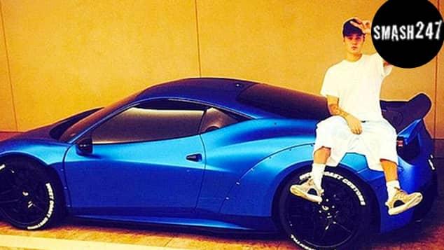 Sänger Justin Bieber vergisst immer wieder seinen Ferrari