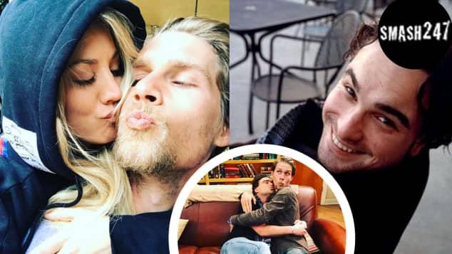 Video Kaley Cuoco mit ihrem Freund und Johnny Galecki