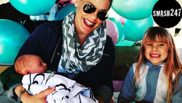 Sängerin Pink und ihre fünfjährige Tochter Willow Sage
