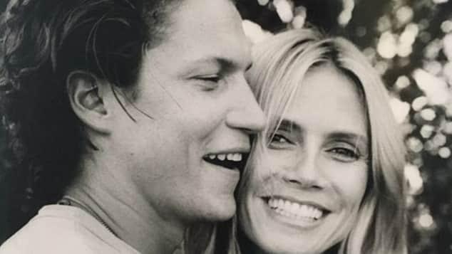 Vito Schnabel und Heidi Klum sind überglücklich